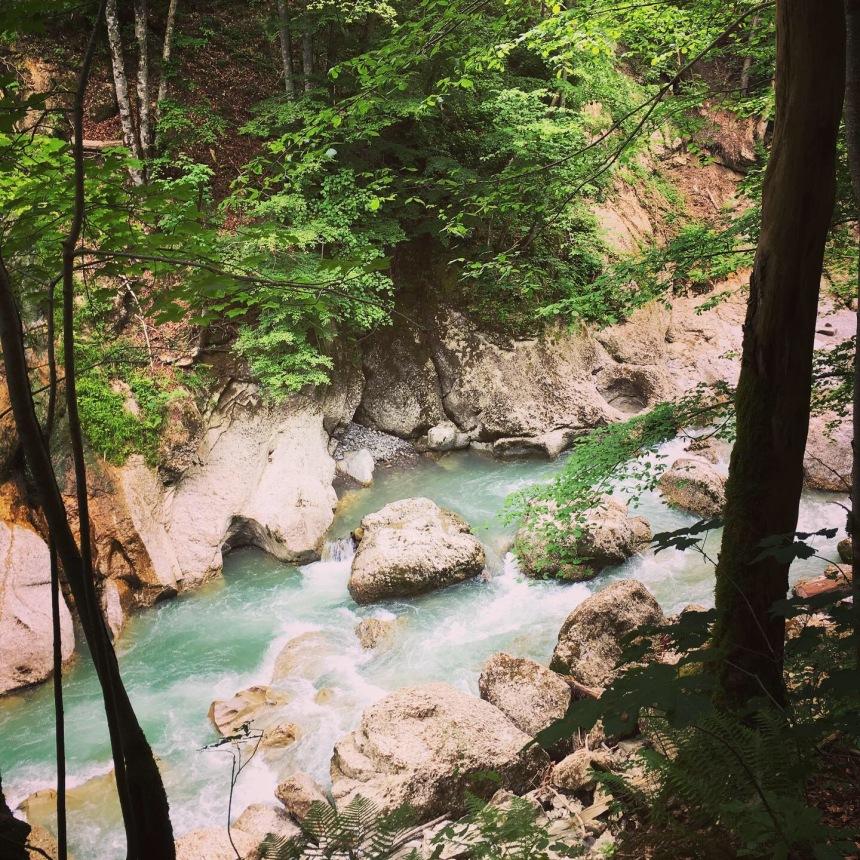 Wasserwanderweg, Engelslochschlucht, Hittisau, Vorarlberg, Bregenzerwald, mit Kindern unterwegs, mit Kindern wandern, Wanderweg, Bolgenach, Naturschönheit