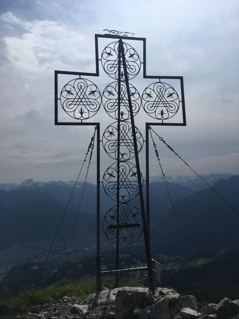 Mondspitze, Bergtour, schönstes Bergkreuz