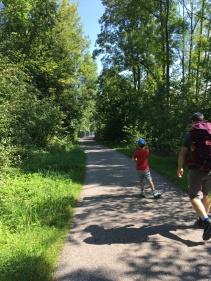 Radweg, wandern mit Kindern, Vorarlberg