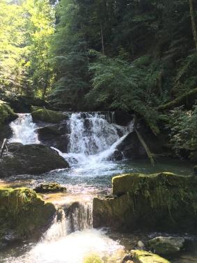 Brühlbacher Wasserfall, andelsbuch, bregenzerwald