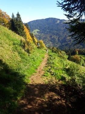 Staufenspitze, Dornbirn, wanderweg vorarlberg, kinder können das, free range kids, wandern mit kindern in vorarlberg, familienwanderung, karren, vcard, visit vorarlberg